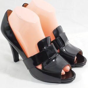 Enzo Angiolini Womens Black Patent Eaindra 8.5
